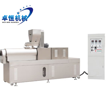 Animal pig chicken fish feed pellet stainless extruder production line