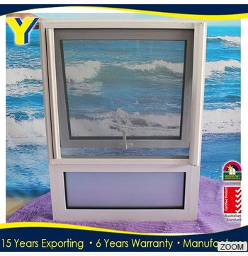 Hot Sale AS2047 Australian standard double glazed Aluminum frame awning window