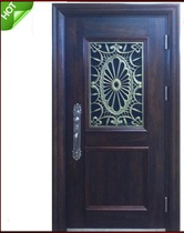 High quality Metal Steel Front Exterior Security Door Design