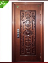 High quality China Mother And Son Steel Door Design