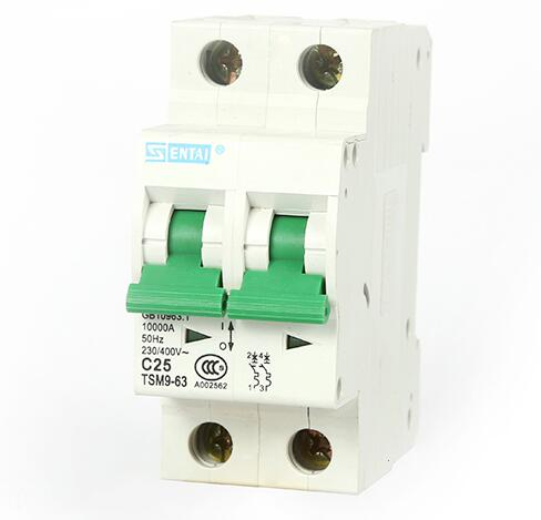 Good Quality Hot Sale TSM9-63 50/60 Hz Mini Circuit Breaker