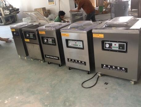 CE/ISO9001 chicken semi-automatic vacuum packing machine