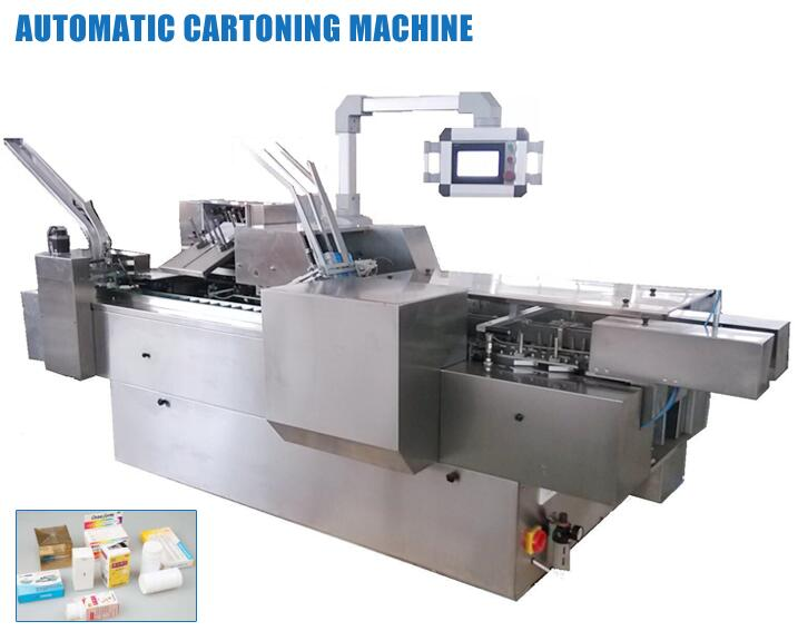 HUALIAN Hot Selling China Products 1500kg Automatic Ampoule Bottle Paper Cartoning Packing Machine