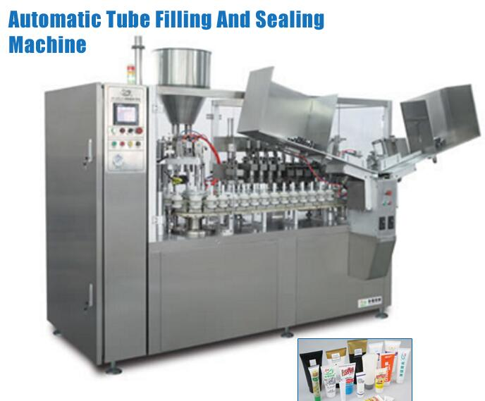 China Market Hot Sale Items Full Automatic Toothpaste Tube Filling And Sealing Machine