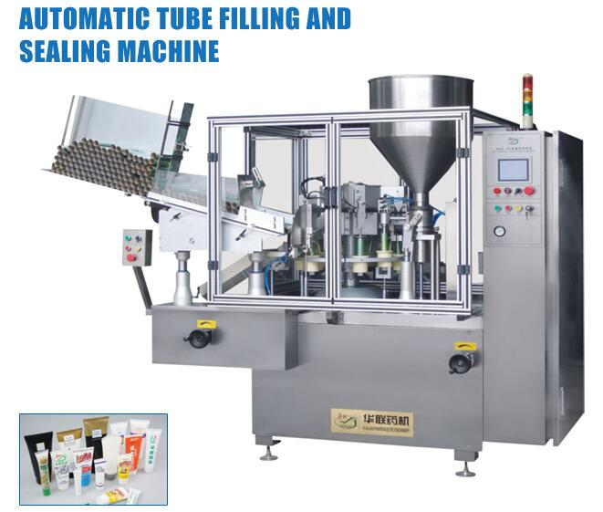 New Products GF-400F Automatic Plastic Tube Filling And Sealing Machine