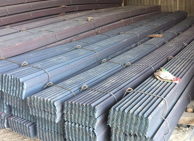 High strength and stiffness angle steel