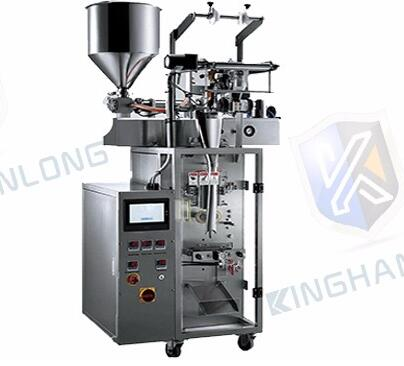 1-500ml sauce or curd plastic bag liquid packing machine