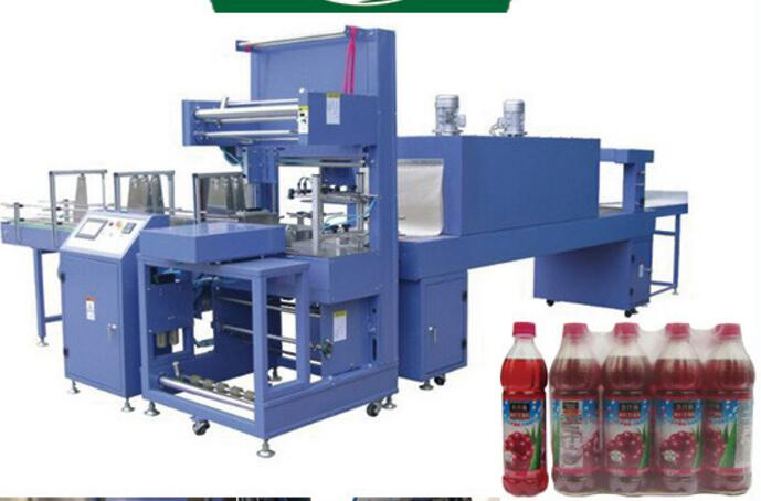 Automatic Flow Wrapping Machine Film Shrink Wrapping Machine for Bottles