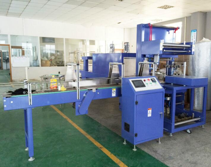 Hot sale PVC POF Film Automatic Shrink Packing Machine