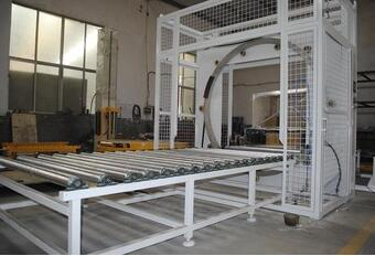 S450 Series Horizontal stretch wrapper/stretch wrapping machine