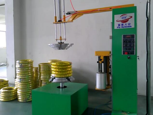 Hot Sale High Quality H600L Series tyre stertch wrapping machine