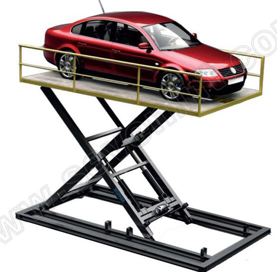 7LSJC scissor structure retail garage used manual easy operation 3T car Lift