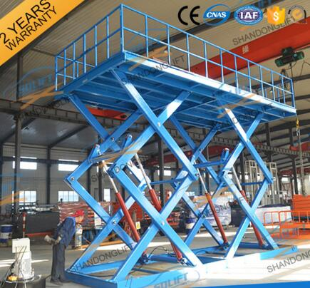 SJG3-5 CE Certification Electric in ground hydraulic car lift platform