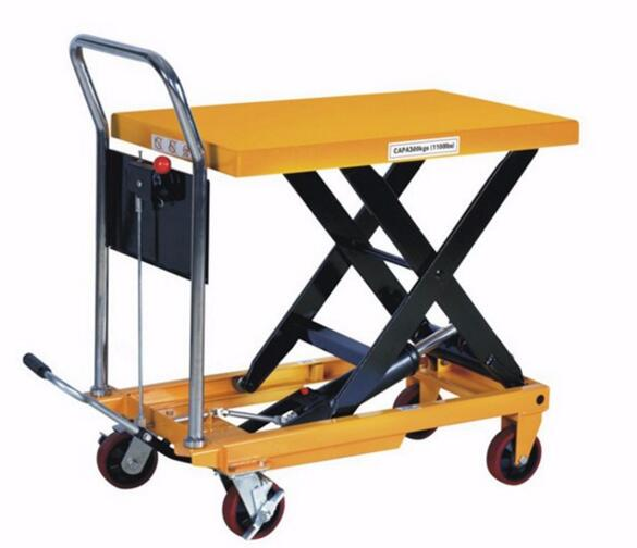 Wholesale good quality 350kg 1300mm mini hydraulic elevator platform