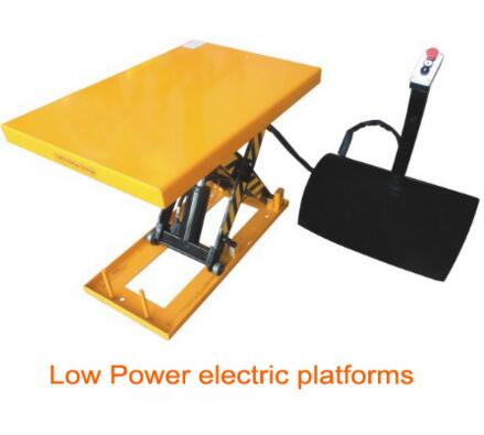 ISO9001 Electric Cylinder Hydraulic Scissor Platform Lift Table