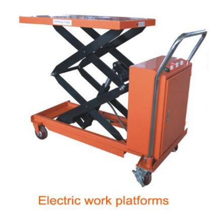Semi Electric Hydraulic Stainless Steel Scissor Lift Table in China