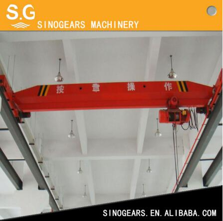 Electric chain hoist bridge LD Single Girder Overhead shop crane