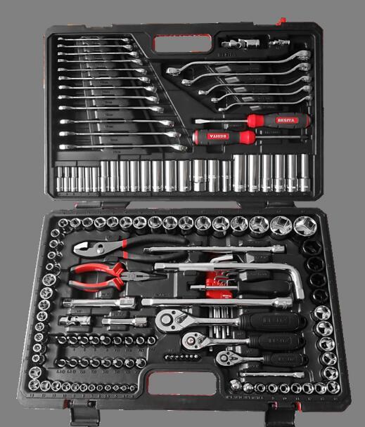 150pcs Metric Combination Tool  Socket Set
