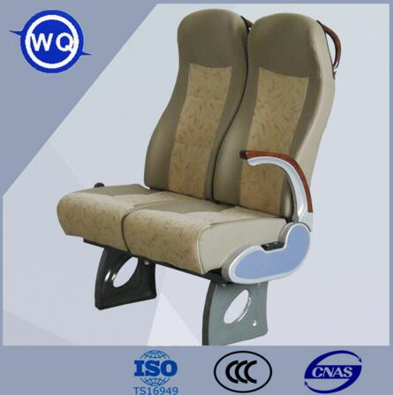 Comfortable Train Seat with Fire-retardant Fabric Passenger Coach
