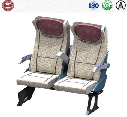 HT-IS-D002 High Quality Railway Passenger Coach Seat with Table