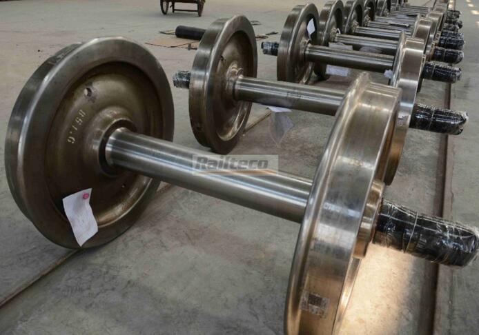 Railteco Good Quality Hot Sale wagon wheel set for railway