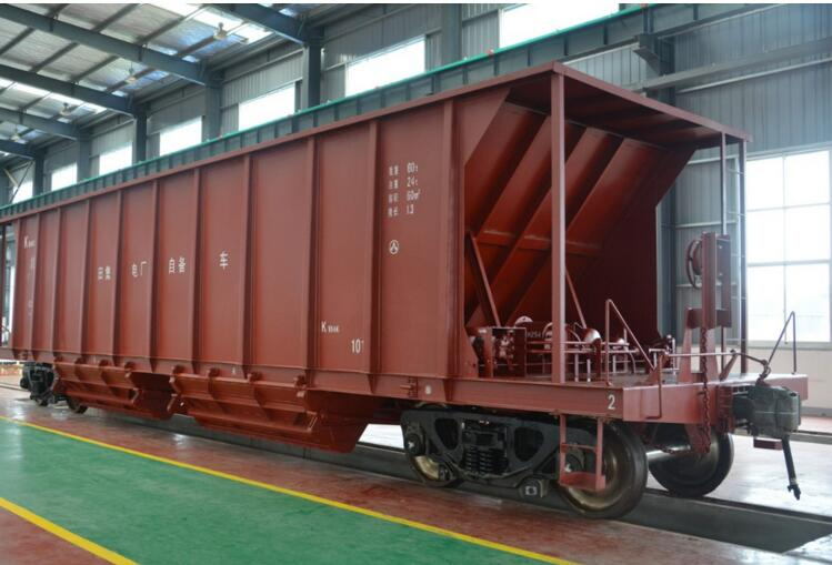 Railteco Hopper Wagon for Grain Transportation on Railway