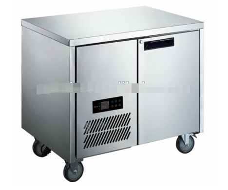 Commercial split type air cooling chest freezer/chest refrigherator/worktable HAF480L3/F