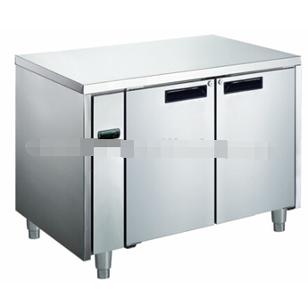 Horizontal wholesale chest freezer with remote worktable for hotel, kitchen, restaurant HAF370L2/F