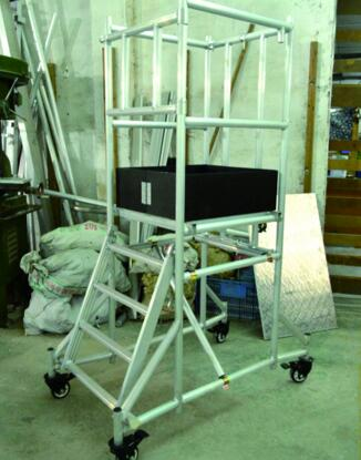 Extreme FS-2270 Series Folding aluminum scaffolding