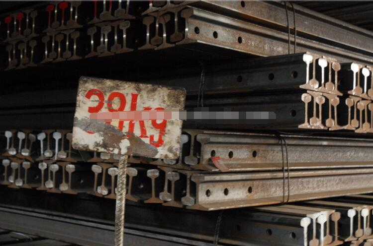 Steel heavy rail used for industrial project
