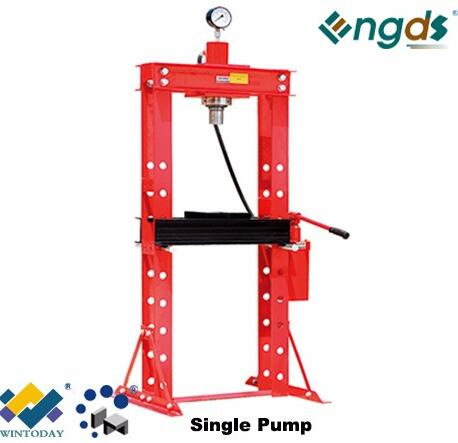 20T High Quality Single/Double Pump Hydraulic Shop Press