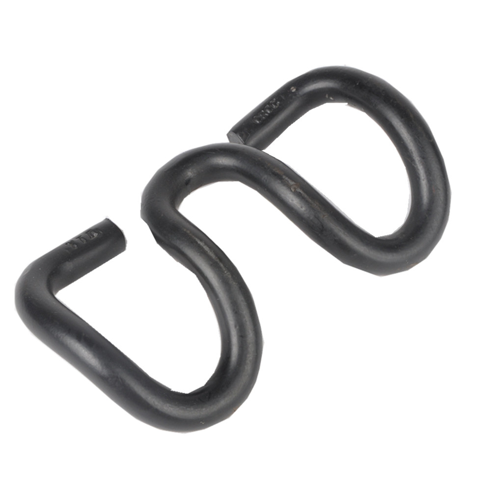 railway clip for railroad fastener in railway equipment  elastic clip for the rail