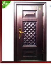 Iran Flat Metal Anti-theft Safety Door Design