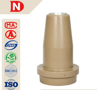 epoxy resins electrical insulator wall bushing cylindrical capactive