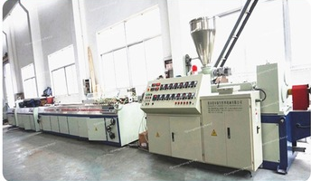 twin screw extruder pvc electrical cable trunking making machinery