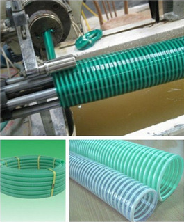 pvc spiral hose machine