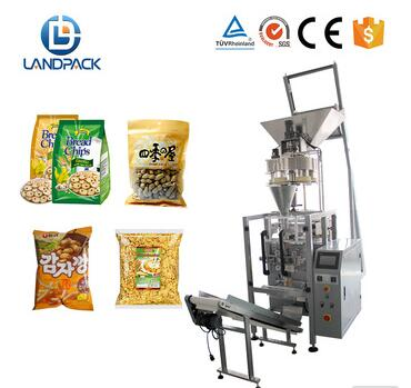 Full Automatic Nuts/Peanut/Coffee Bean/Sunflower Seed Granule Packing Machine