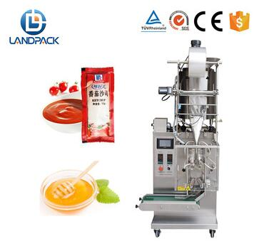 Automatic massage butter / tomato paste/ shampoo/ honey/ ketchup sachet packing machine