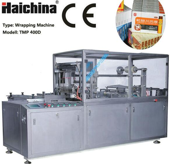 TMP-300D Automatic Biscuit Box Packing machine/Cellophane Over Wrapping Machine