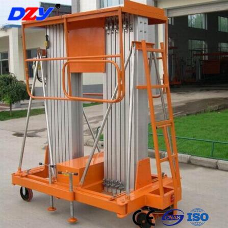CE Certificate  200kg aluminum stage hydralic scissor lift platform