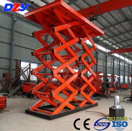 Best price CE certificate rust-proof  double hydraulic scissor car lift