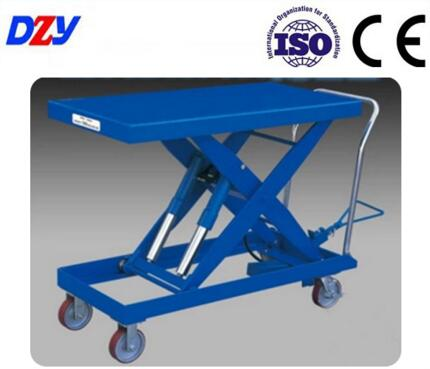 CE/ISO Certificate Aerial Work Manual Elevator Lift Motor Price