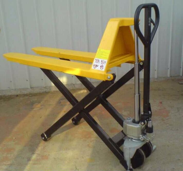 BY215 The best price you can get 1.5 ton scissor lift pallet truck