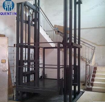 QUENTIN 2500kg Hydraulic goods Elevador carga cargo lifts