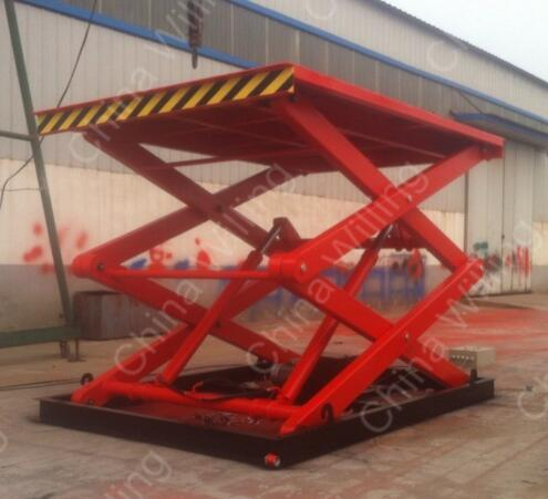 WLG2.0-2.7 Stationary Hydraulic Scissor Lift Platform with High Quality