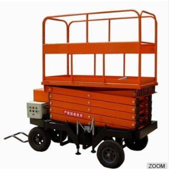 Mobile scissor lift platform for general industrial equipment price
