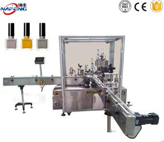 NFDZY CE standard nail polish bottle filling capping machine for sale