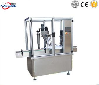 hot sale new condition pharmaceutical power bottle filling capping machine