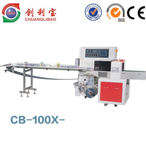 CB-100X Plastic Bag Flow Automatic Shrink Wrapping Machine