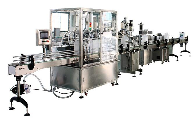 CE Certificate 2500kg 380V 50Hz 10ml bottle filling machine